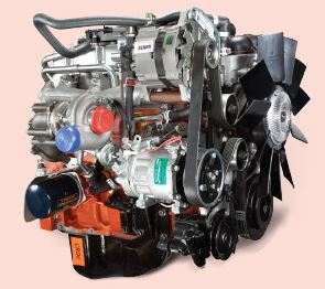 Mahindra Tourister COSMO School Bus engine