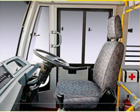 Mahindra Tourister COSMO School Bus interior