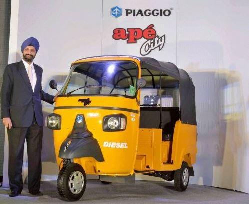 Piaggio Ape City Diesel Auto Rickshaw img3