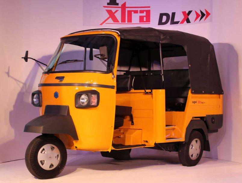 Piaggio Ape XTRA DLX CNG Auto Rickshaw