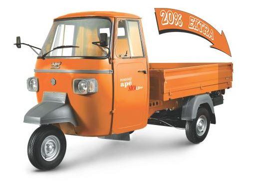 Piaggio Ape XTRA LD Cargo CNG