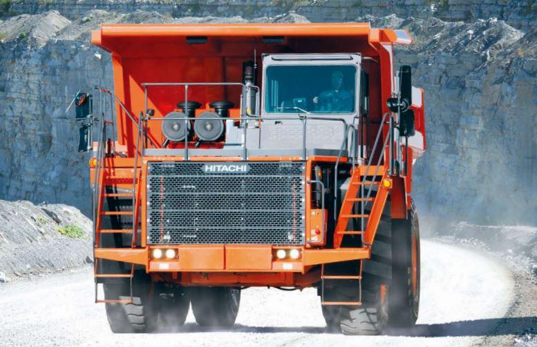 TATA Hitachi EH 1100-5 Dump Truck 2