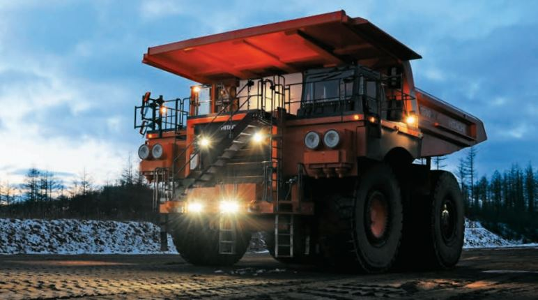 TATA Hitachi EH 3500AC-3 Dump Truck specifications