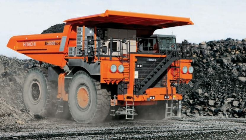 TATA Hitachi EH 3500AC-3 Dump Truck specs