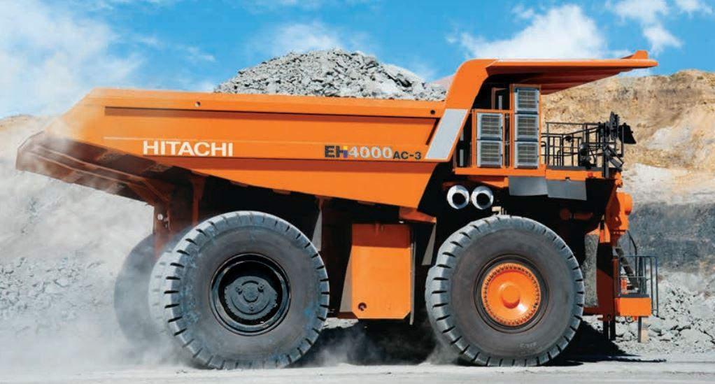 TATA Hitachi EH 4000AC-3 Dump Truck 1