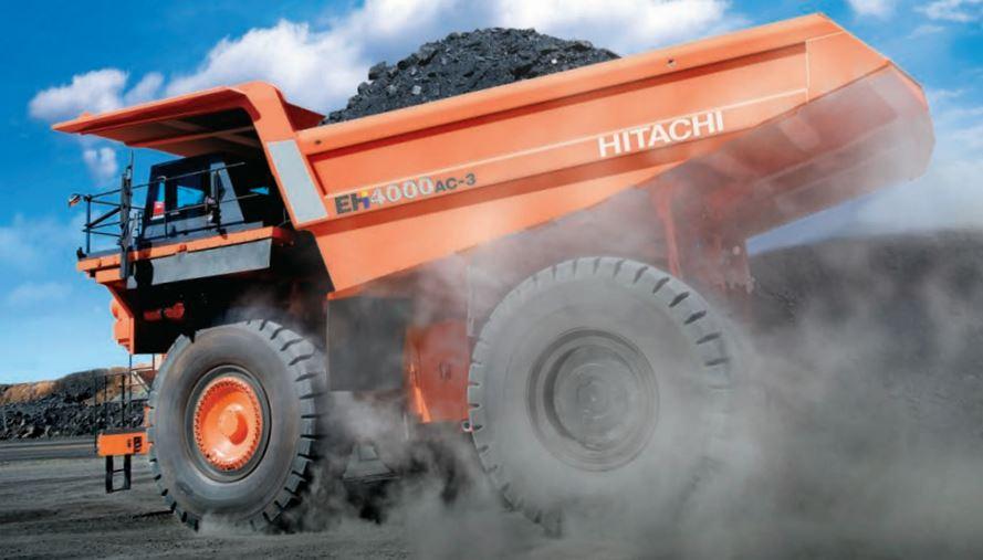 TATA Hitachi EH 4000AC-3 Dump Truck price