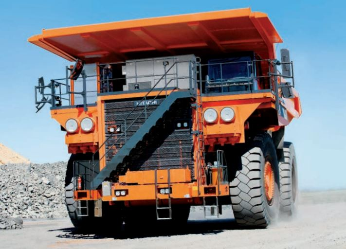 TATA Hitachi EH 4000AC-3: Dump Truck Information, Price, Photos