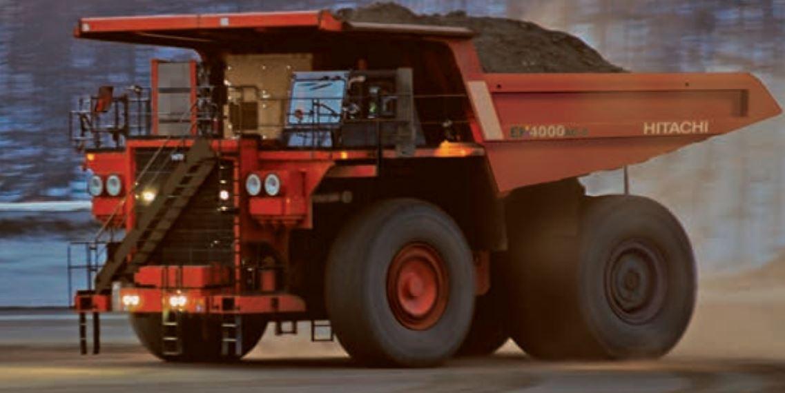 TATA Hitachi EH 4000AC-3 Dump Truck 4