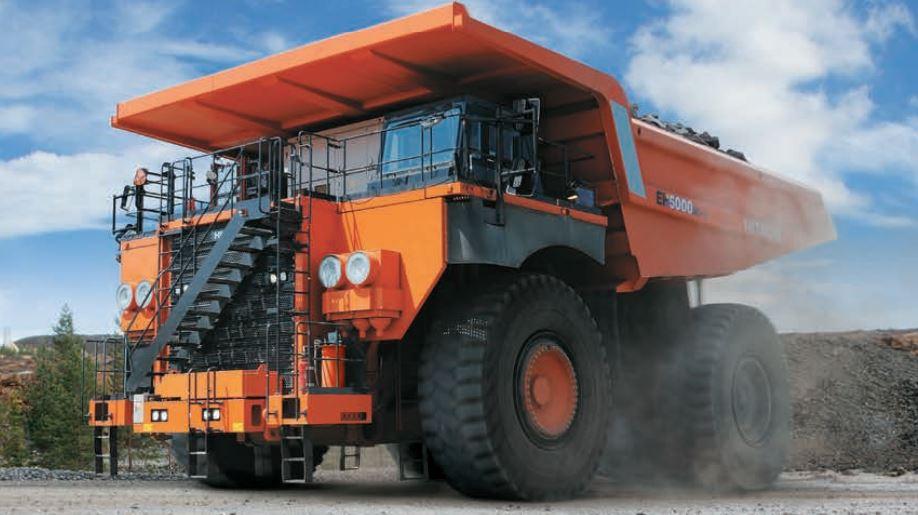 TATA Hitachi EH 5000AC-3 Dump Truck 1