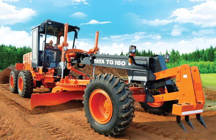 TATA Hitachi Motor Graders TG 160 image1