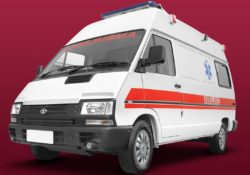 TATA Winger Ambulance 1