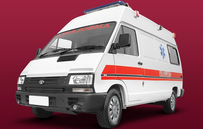 TATA Winger Ambulance 1
