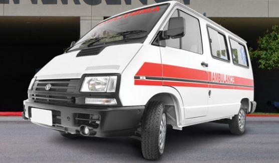 TATA Winger Ambulance 2800 WB Flat Roof