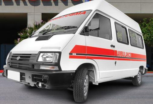 TATA Winger Ambulance 3200 WB High Roof