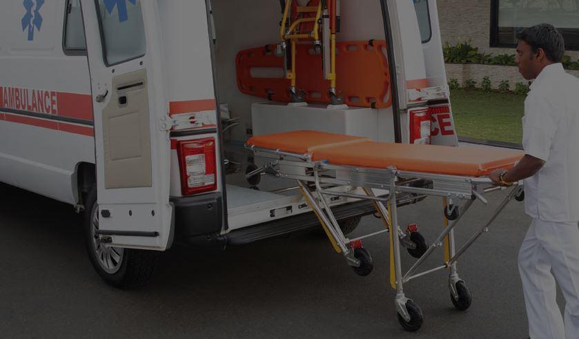 TATA Winger Ambulance STRETCHER