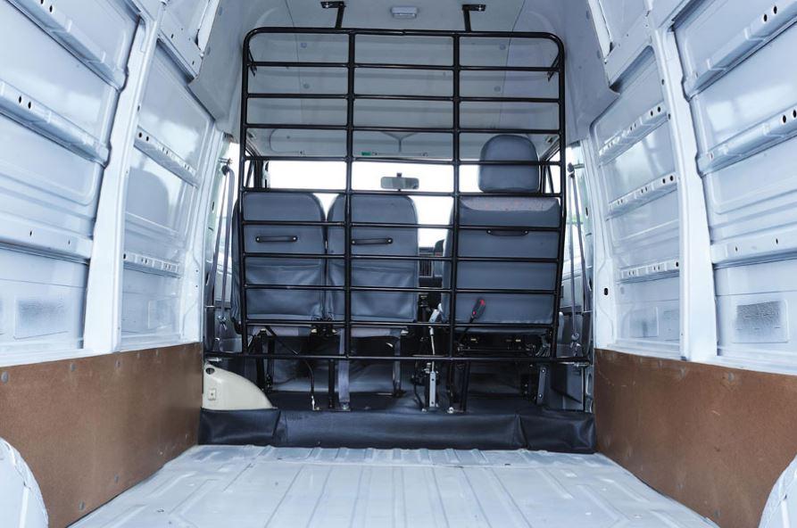 TATA Winger Cargo-Delivery Van interior