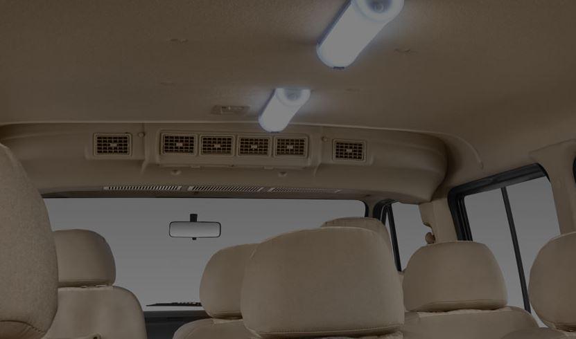TATA Winger Luxury Maxi Van interior1