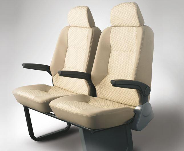 TATA Winger Luxury Maxi Van seats
