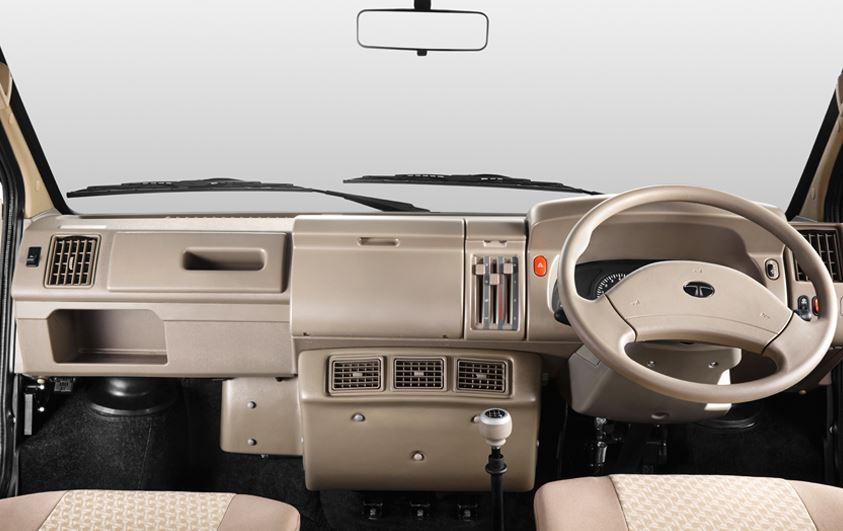 TATA Winger deluxe Maxi Van interior