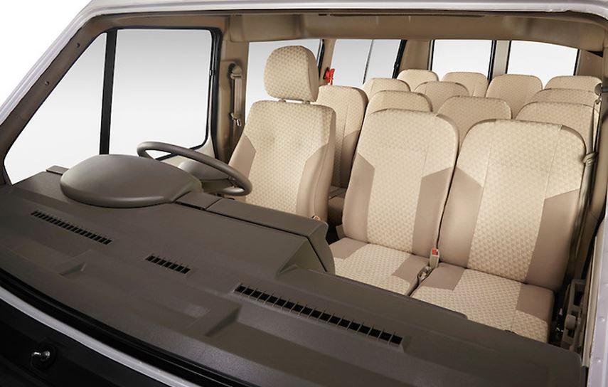 TATA Winger deluxe Maxi Van steering