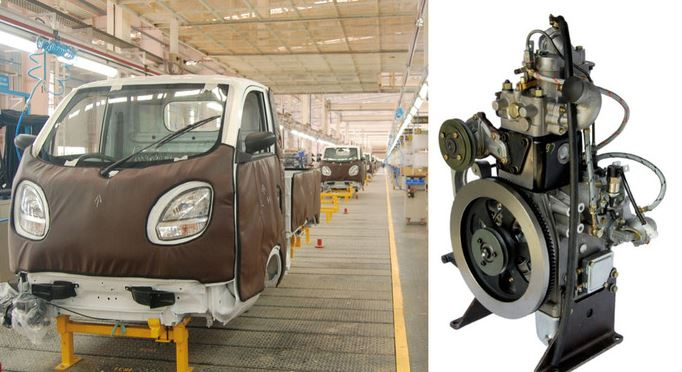 Tata Ace Zip engine