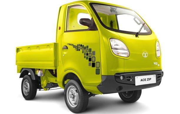 Tata Ace Zip small truck mileage
