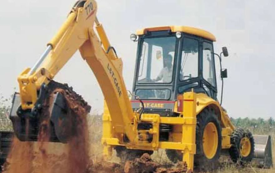 Case Backhoe Loader 770 specs