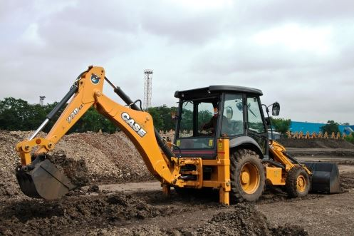 Case Backhoe Loaders 770EX img2