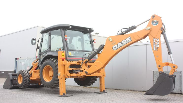 Case Backhoe Loaders 770EX img3