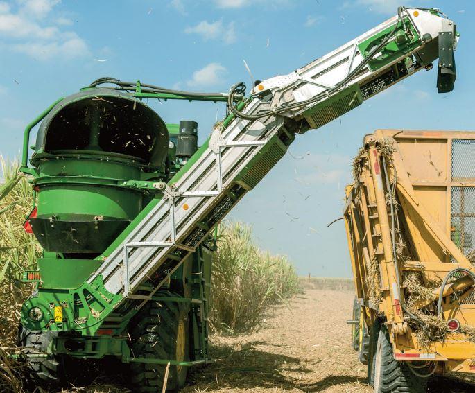 John Deere CH330 Sugarcane Harvester price in india