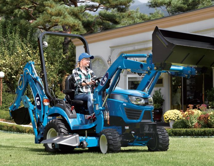 LS MT125 Sub-Compact Tractor