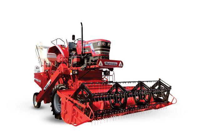 Mahindra Mounted Combine Harvester Arjun 605 Overview