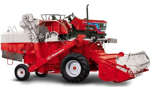 Mahindra Combine Harvester Arjun 605 Price Specs Pics Video