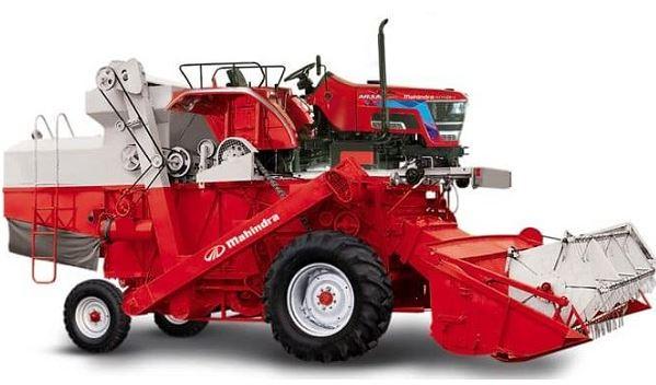 Mahindra Mounted Combine Harvester Arjun 605 key features