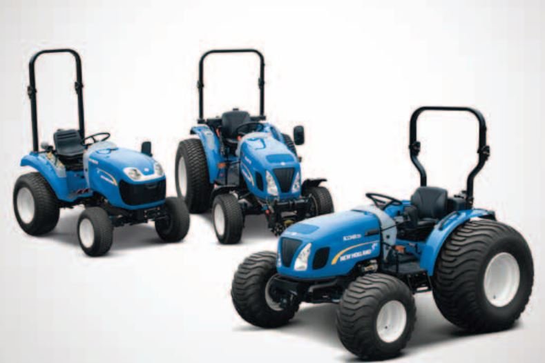 New Holland Boomer 25 50 Series Tractors All Tractors