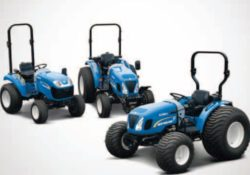 New Holland Boomer 25-50 series tractors