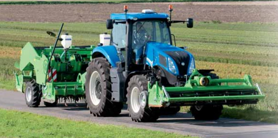 New Holland T8 series Tire 4A Tractor hydraulics system