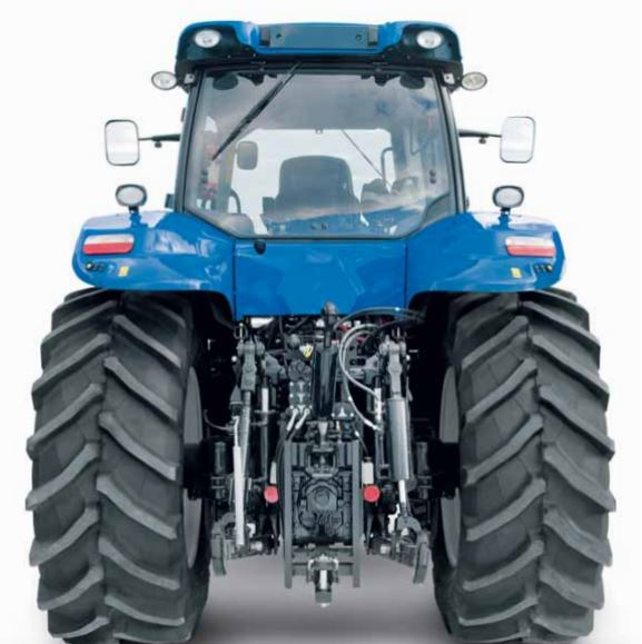 New Holland T8 series Tire 4A Tractor transmission