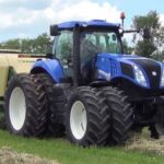 New Holland T8 Series Tire 4A Tractors Price, Key Features, Specs, Images
