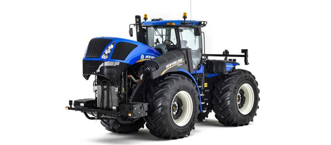 New Holland T9 tractor engine