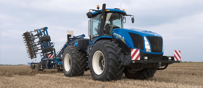 New Holland T9 tractor hydraulic flow