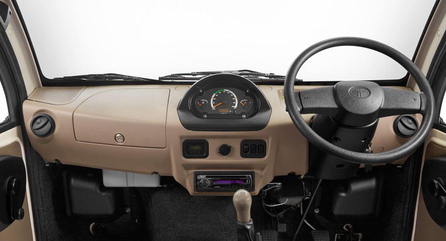 TATA ACE EX mini truck interior