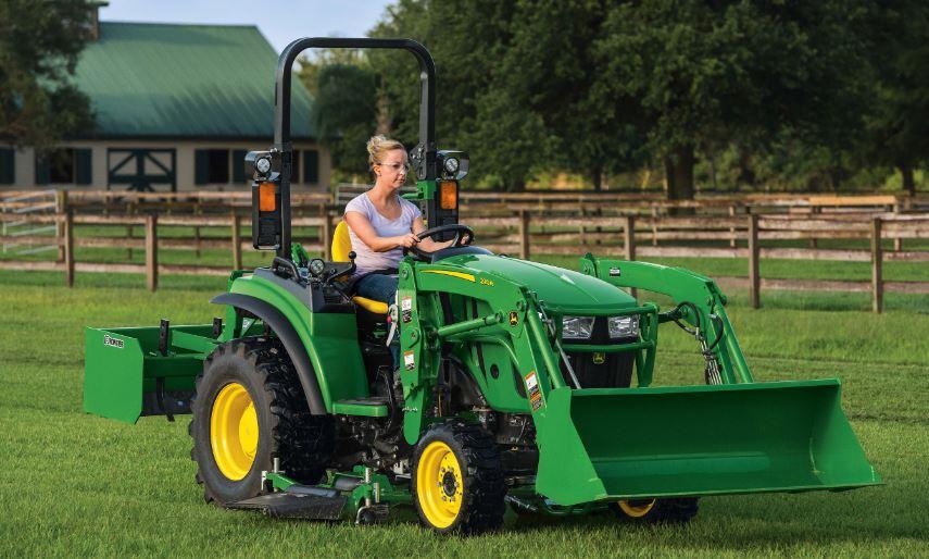 John Deere 2038R Compact Utility Tractor