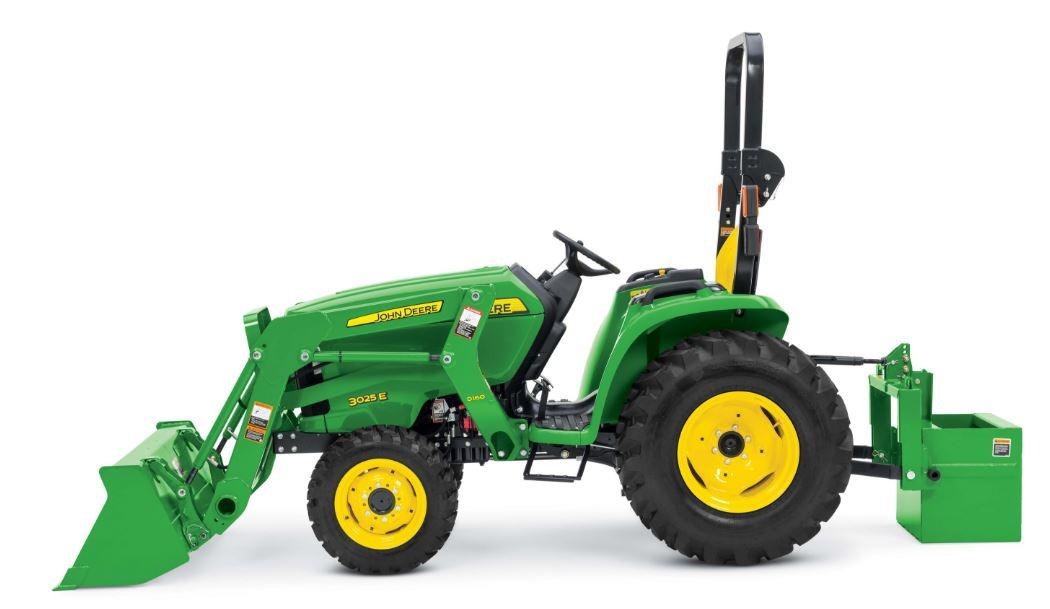 John Deere 3025E Compact Utility Tractor