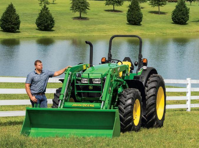 John Deere 5057M Utility Tractor