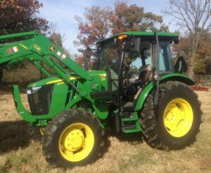 John Deere 5085E Utility Tractor