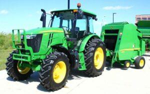 John Deere 6105E Utility Tractor