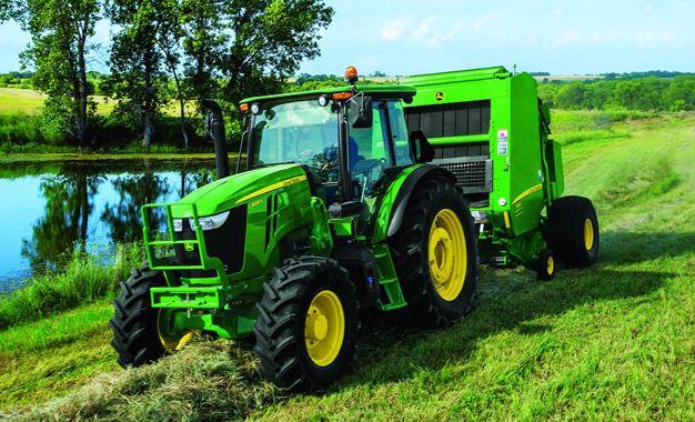 John Deere 6120E Utility Tractor