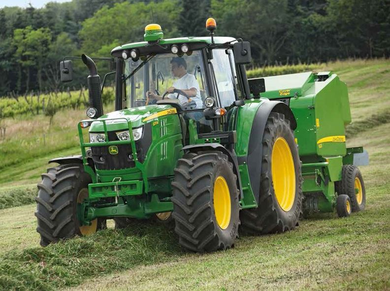 John Deere 6120M Utility Tractor