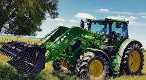 John Deere 6120R Utility Tractor